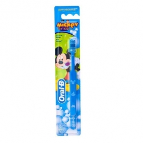 Зубная щетка ORAL-B Mickey for Kids 20 мягкая, 1шт