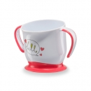Кружка HAPPY BABY CUP WITH SUCTION BASE на присоске